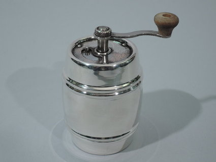 Novelty pepper grinder in form of barrel c 1910 - Novelty pepper grinder ...