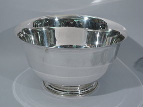 Very Large Cartier Sterling Silver Centerpiece Bowl