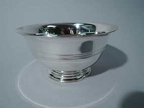 Tiffany Sterling Silver Footed Bowl C 1912
