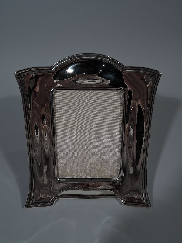 Antique Tiffany Sterling Silver Picture Frame