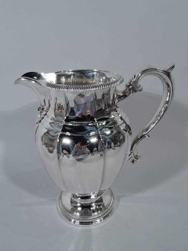 Antique Gorham American Classical Sterling Silver Water Pitcher