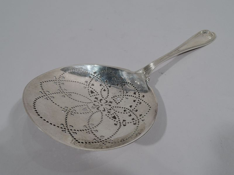Antique Tiffany Sterling Silver Serving Piece in Colonial Pattern
